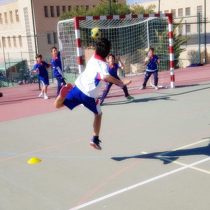 Paraescolares jesuitas Alicante balonmano