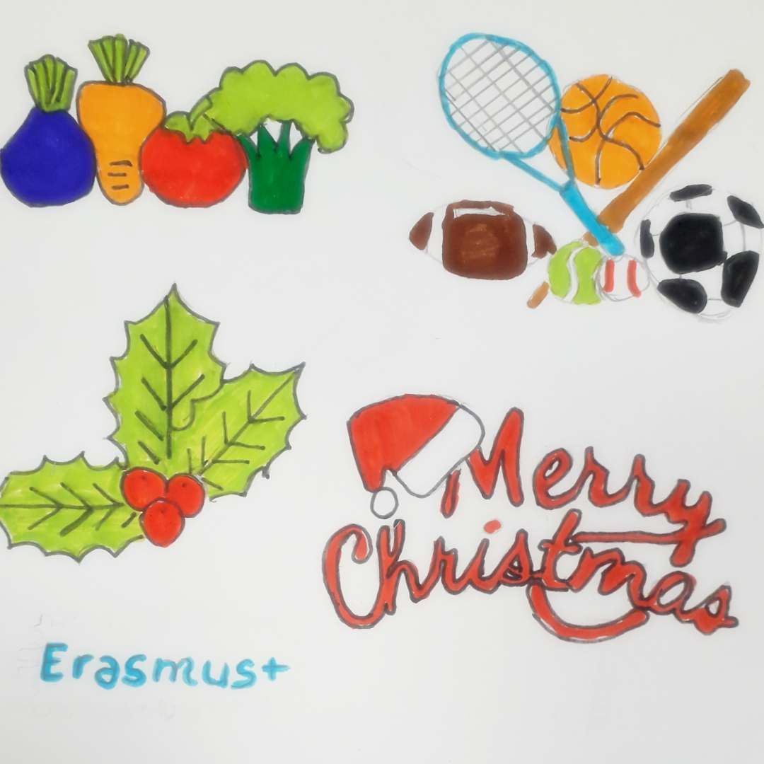 "Erasmus+ ""Healthy Christmas Cards"""