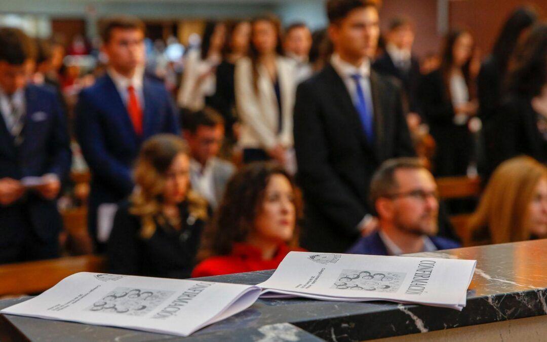 Información para las familias de los catecúmenos que recibirán el Sacramento de la Confirmación de segundo de bachillerato