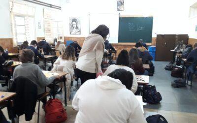 Exámenes 2ª evaluación bachillerato