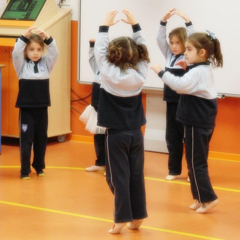 Iniciación al ballet infantil jesuitas Alicante