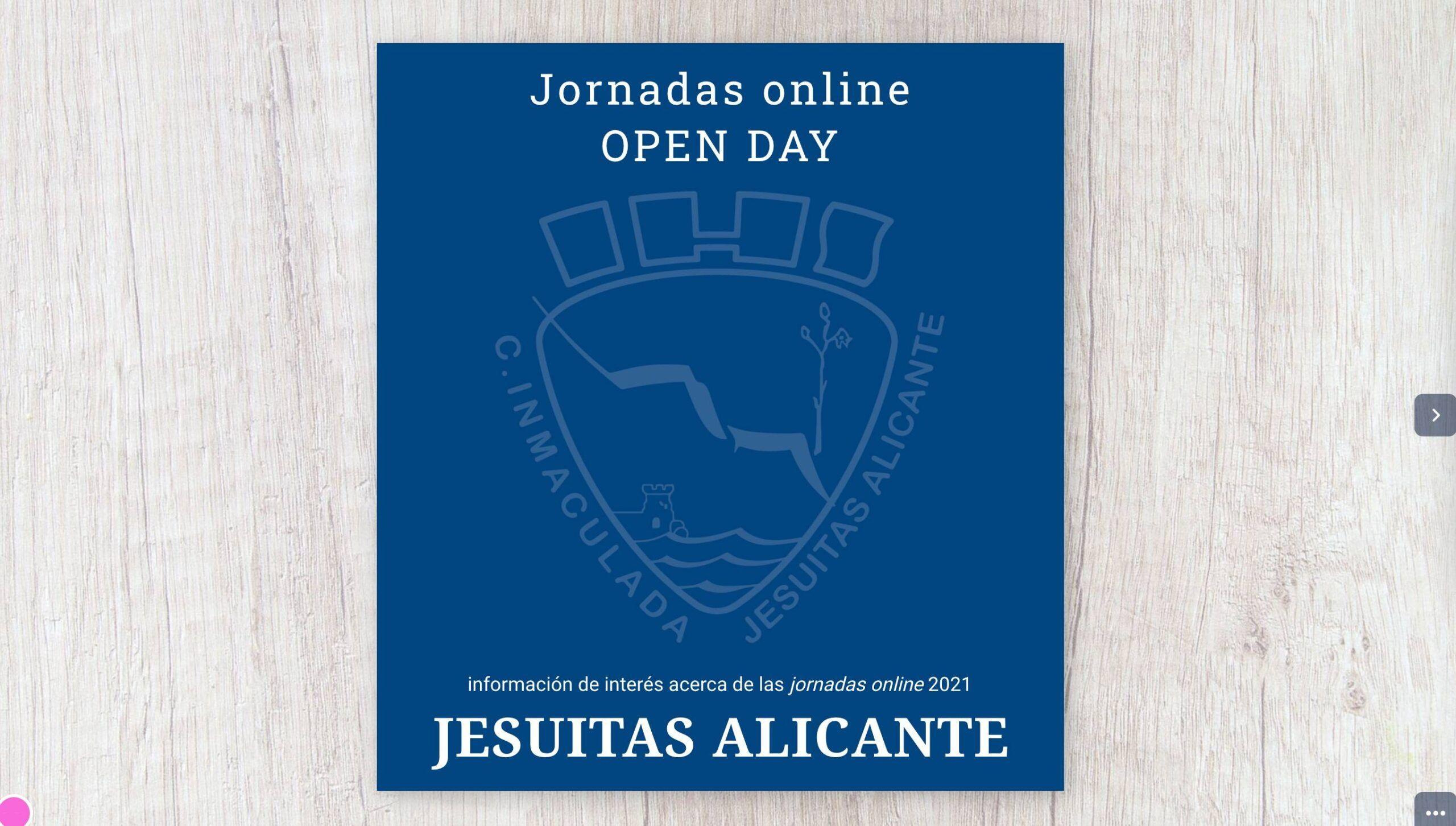 Genial.ly Revista Virtual jornada de Puertas abiertas