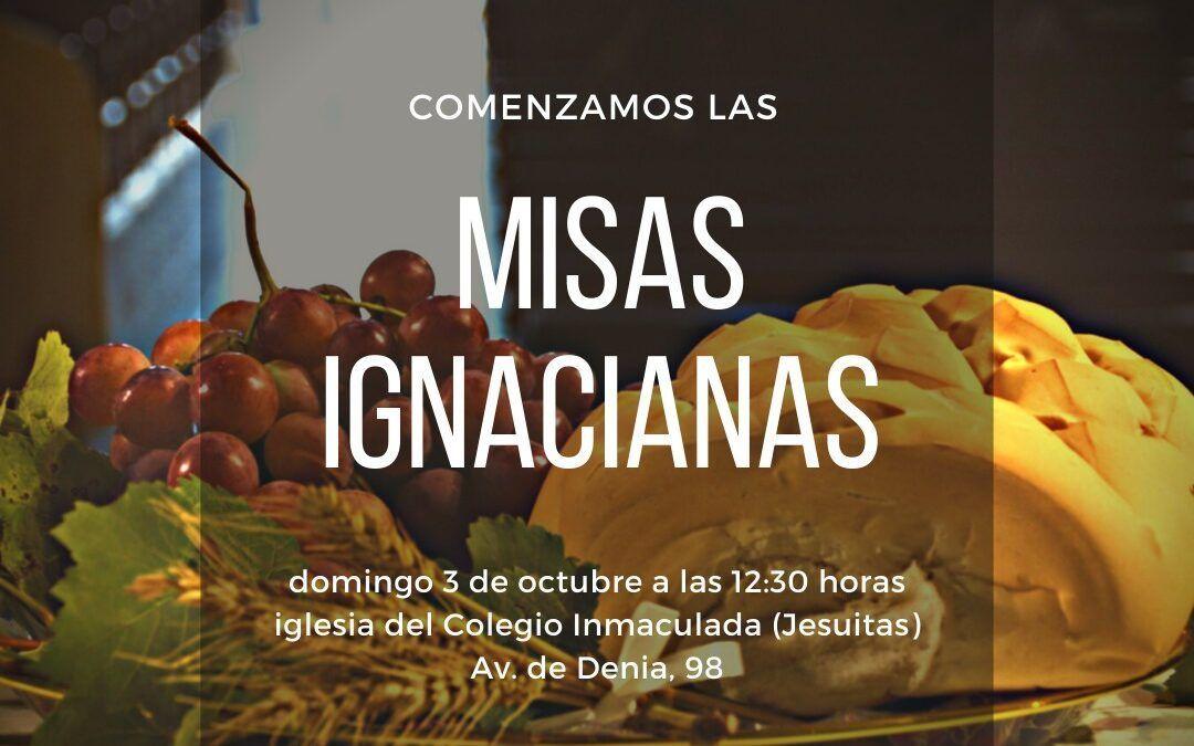 Misas Ignacianas en domingos y festivos