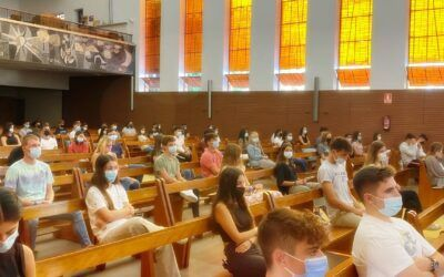 Bienvenida desde la Acción de Gracias a los alumnos de Bachillerato