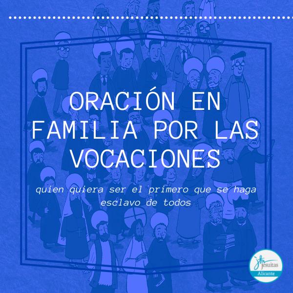 Oración en familia por las vocaciones